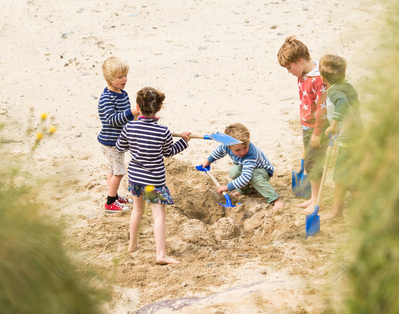 Book a self-catering holiday for February half term and let the kids run wild in north Cornwall over the school holidays